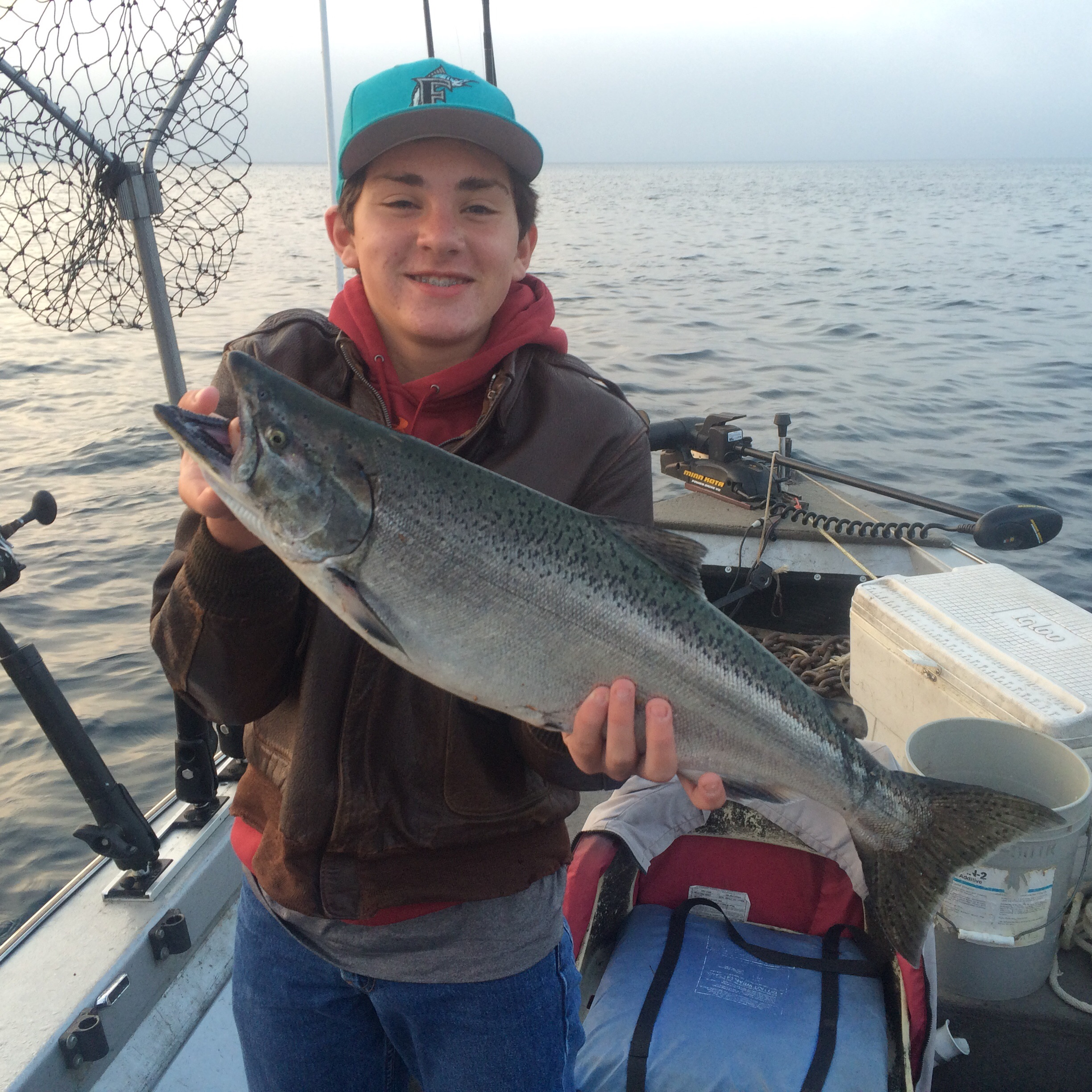 Pentwater report 8 30 15 michigan sportsman online for Michigan dnr fishing reports