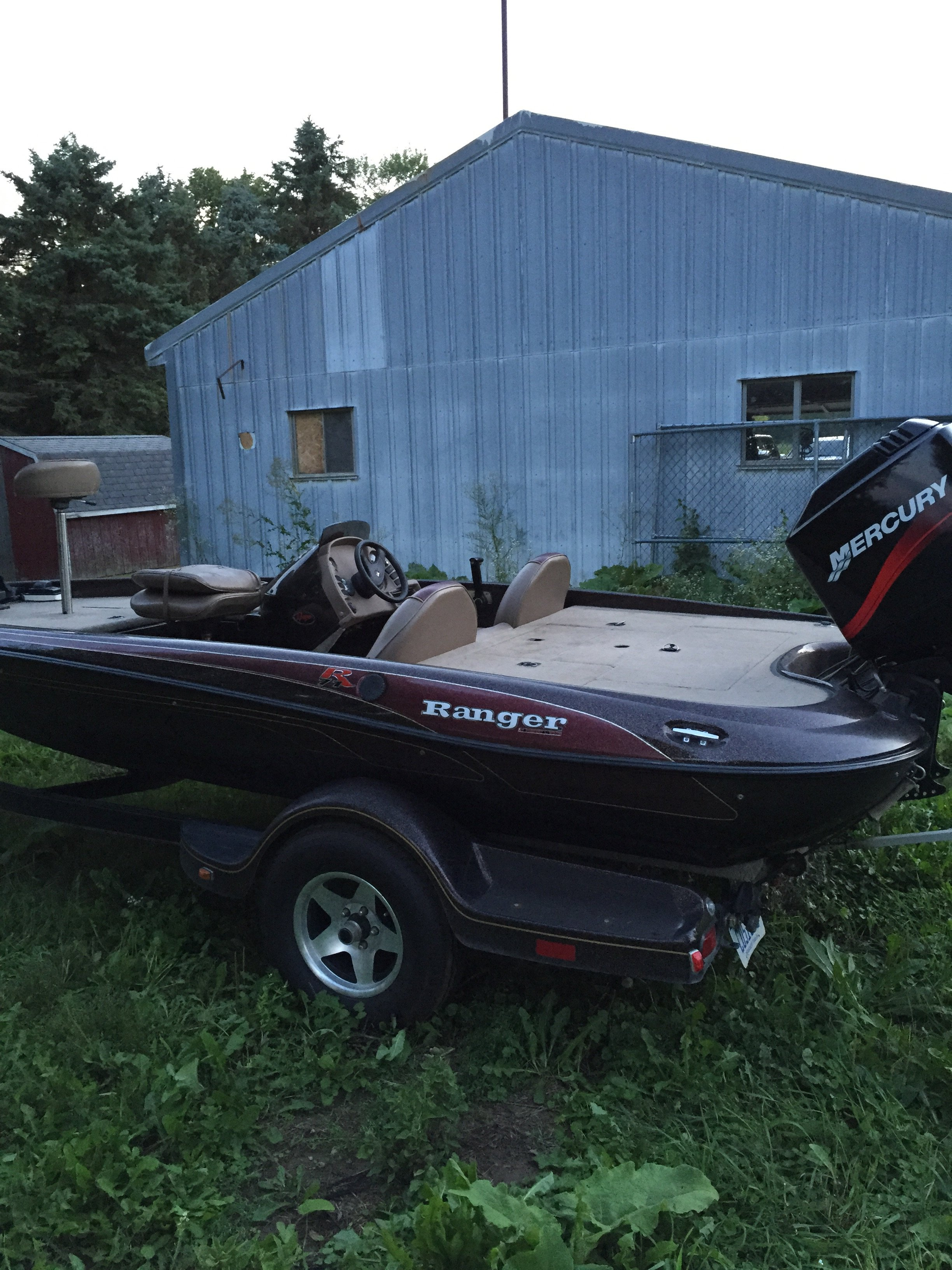 2000 ranger bass boat for sale michigan sportsman for Fishing boats for sale in michigan