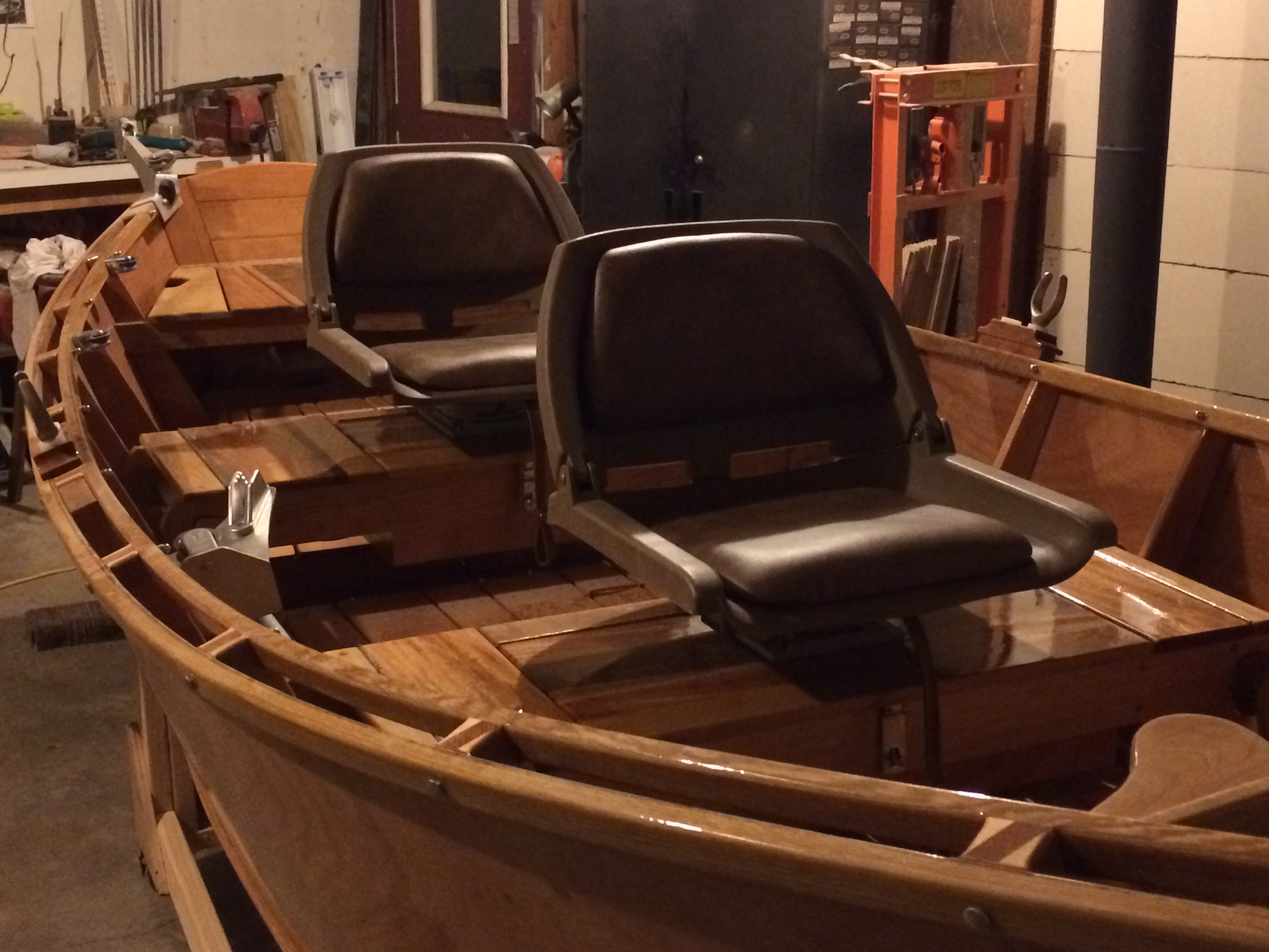I Also Utilized The Seat Benches For Storage Space The Under Deck Space Is  A Good Spot To Stash Life Vests, Ropes Ect You`ll Want Some Drain Holes,