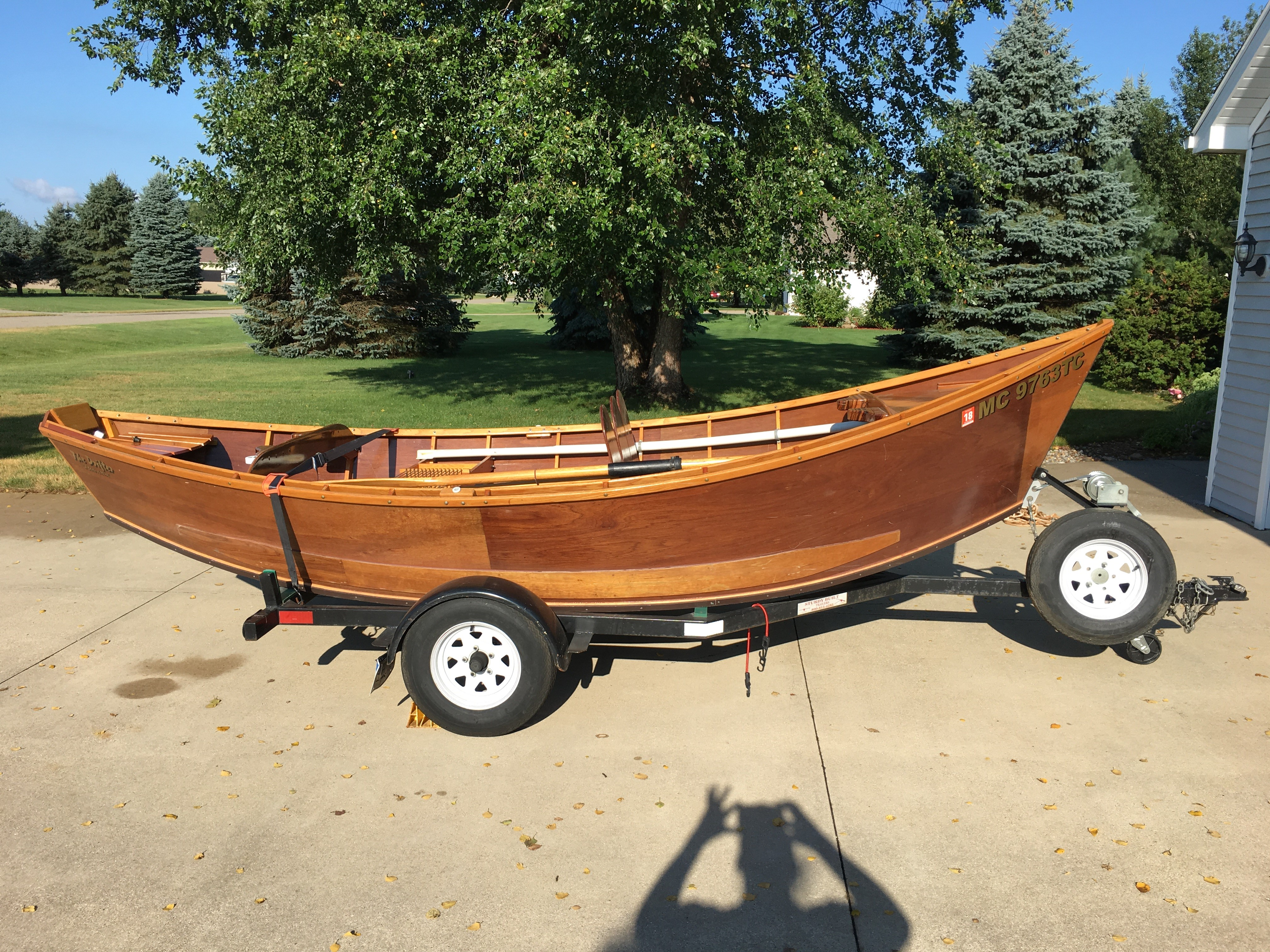 Wooden drift boat for sale michigan sportsman online for Fishing boats for sale in michigan